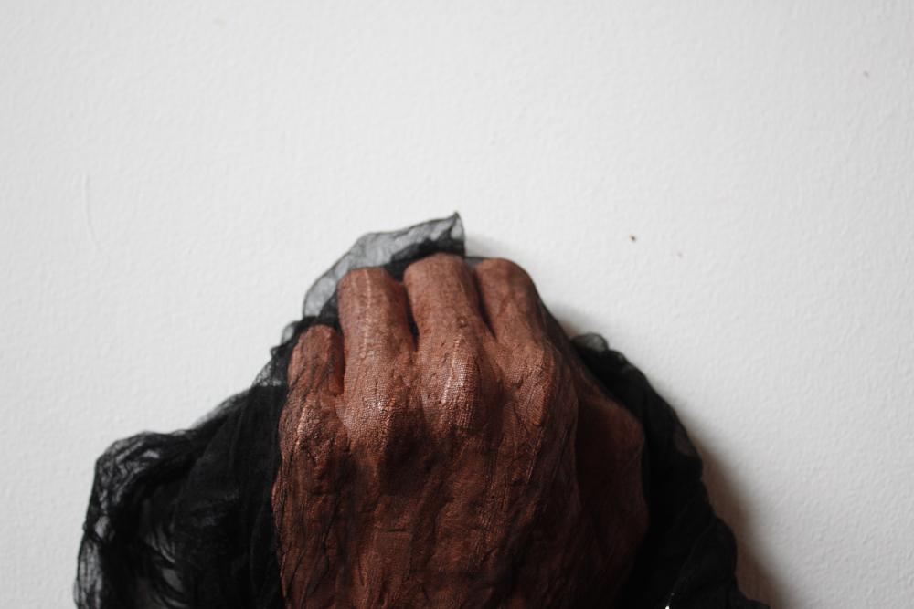 Main-lettre de verginia woolf-2015 / Das et tissu