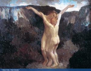 Gibran Khalil Gibran, Deux croix